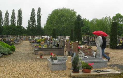 The cemetery at Urt